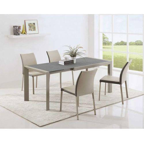 Arabis 2 stół rozkładany szkło granitowe stone efect marki Halmar