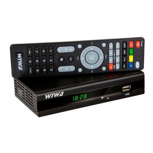 Wiwa Tuner tv  hd 158 (dvb-t) wiwa hd-158 - odbiór w 2000 punktach - salony, paczkomaty, stacje orlen