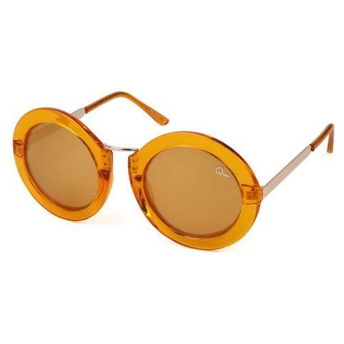 Okulary słoneczne qw-000050 life in xanadu coff/gold marki Quay australia