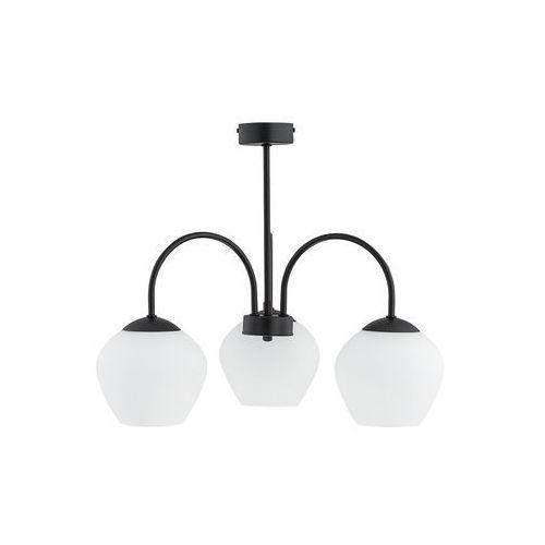 molto o2783 w3 cza plafon lampa sufitowa żyrandol 3x60w e27 czarny mat marki Lemir