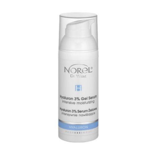 Norel (Dr Wilsz) HYALURON 3% GEL SERUM Serum żelowe intensywnie nawilżające (PA362)