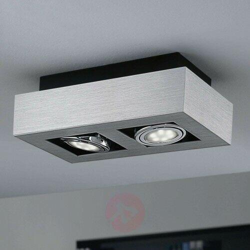 2-punktowa lampa sufitowa LED Loke