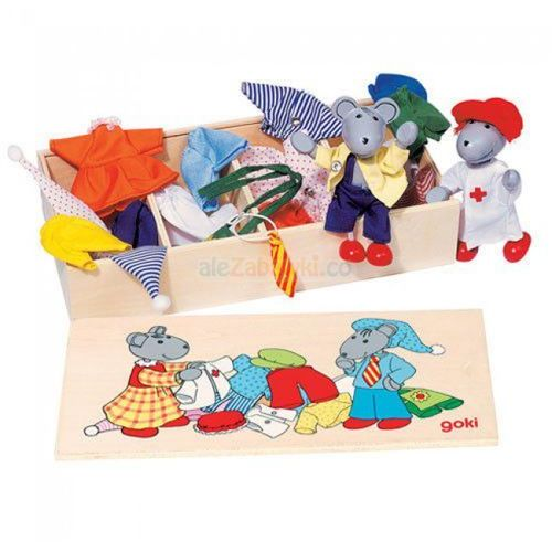 Przebieranka myszek z kategorii Pozostałe zabawki
