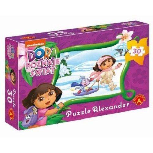 Puzzle Idziemy Na Sanki - Dora Poznaje Świat 30