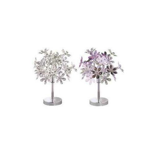 Trio rl flower r50011017 lampka stołowa biurkowa 1x40w e14 chrom / wielokolorowy (4017807264777)