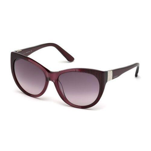 Okulary słoneczne sk 0087 71t marki Swarovski