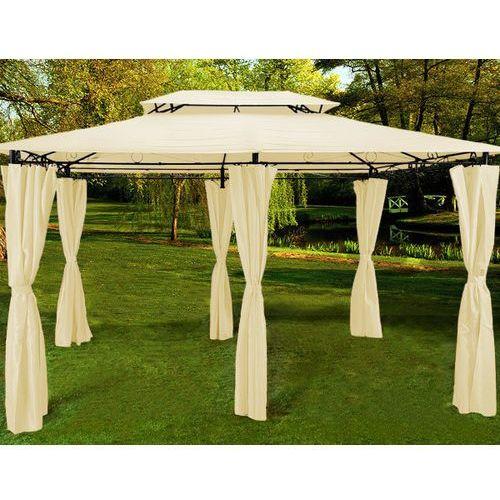 Namiot pawilon altanka ogrodowy 3x4 beżowy, marki Wideshop