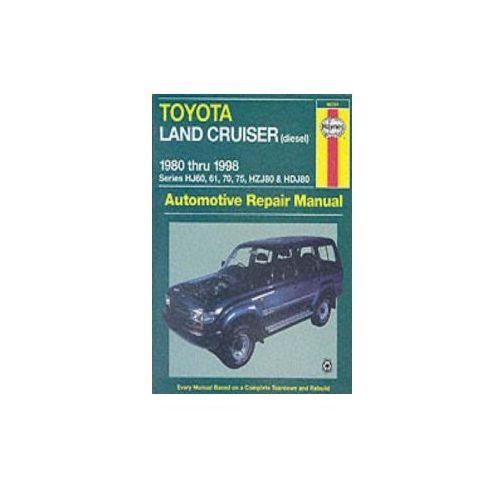 Toyota Land Cruiser Australian Automotive Repair Manual (9781563923722)