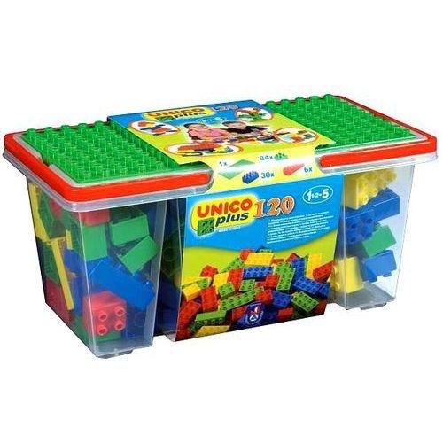 Unico Box z klockami - 120 elementów - BEZPŁATNY ODBIÓR: WROCŁAW!
