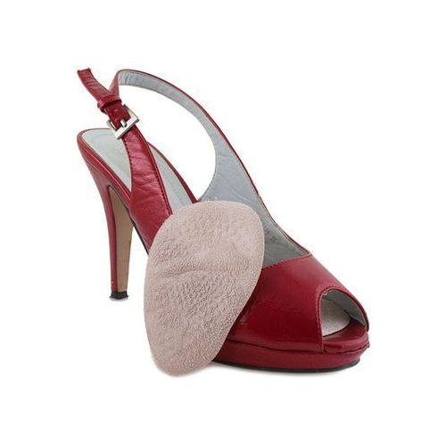 Omniskus Żelowe pół wkładki do butów na obcasie welur (5903021522276)