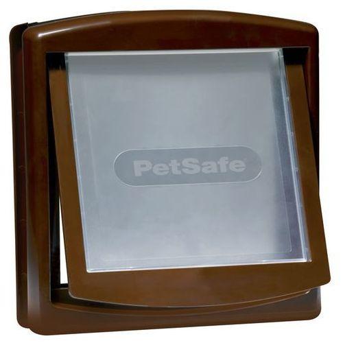 Petsafe staywell Brązowe drzwiczki petsafe dla średnich psów
