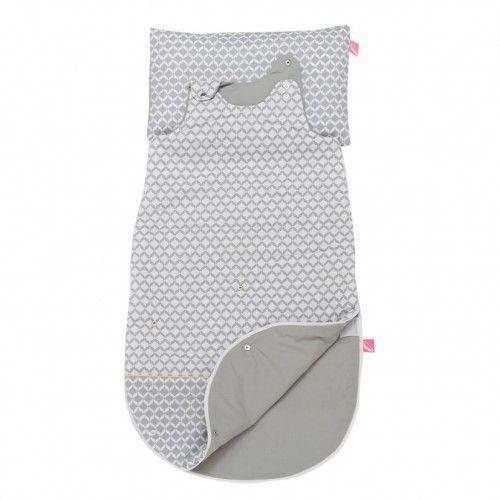 Śpiworek niemowlęcy 3w1 Motherhood Szary Classic, kolor szary