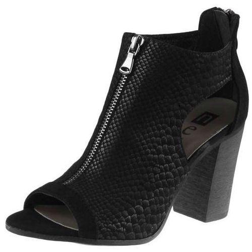 Sandały Nessi 81406 - Czarne AN, kolor czarny
