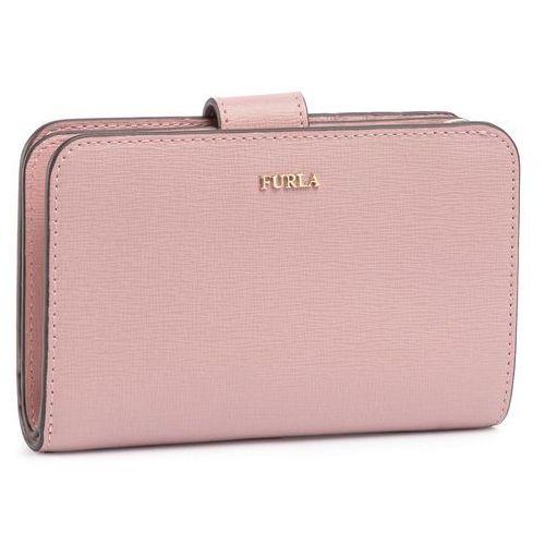 Duży portfel damski - babylon 1039031 p pr85 b30 rosa antico g marki Furla
