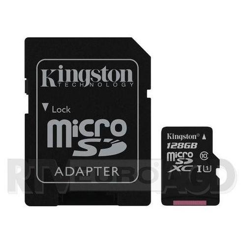 microsdxc class 10 uhs-i 128gb - produkt w magazynie - szybka wysyłka! marki Kingston