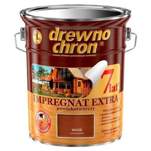 - impregnat, mahoń, 4.5 l (extra powłokotwórczy) marki Drewnochron