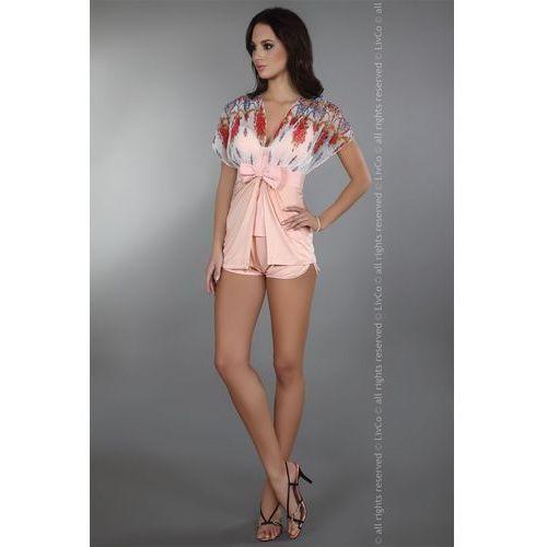 Szlafrok Model Imperia Dressing Gown Powder Pink, kolor różowy