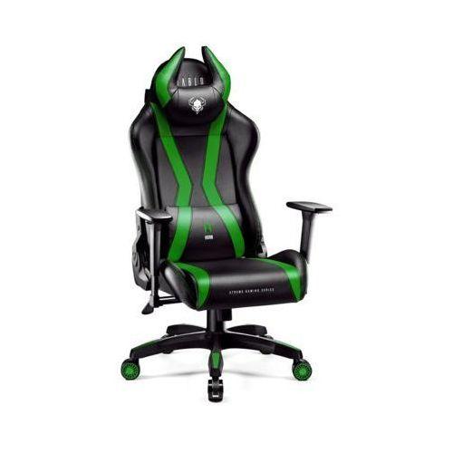 Fotel DIABLO CHAIRS X-One Horn (L) Czarno-Zielony (5902560337020)