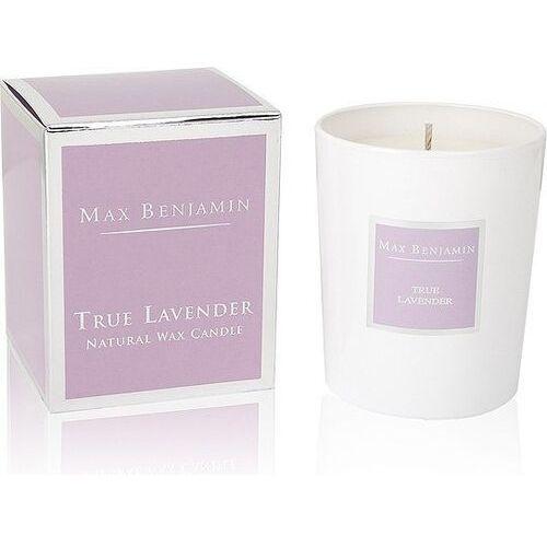 Świeca true lavender marki Max benjamin