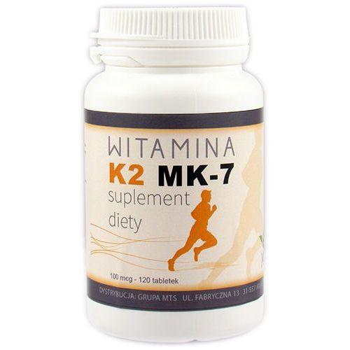 Witamina K2 MK-7 120 tab. Kości, osteoporoza MTS (lek witaminy i minerały)