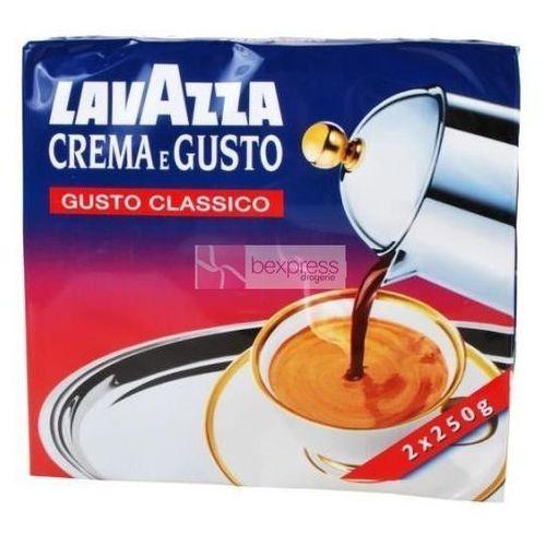 Luigi lavazza Lavazza kawa mielona 2x250 g crema e gusto classico (8000070038028)