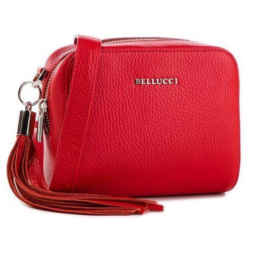 Torebka - r-264 czerwony marki Bellucci