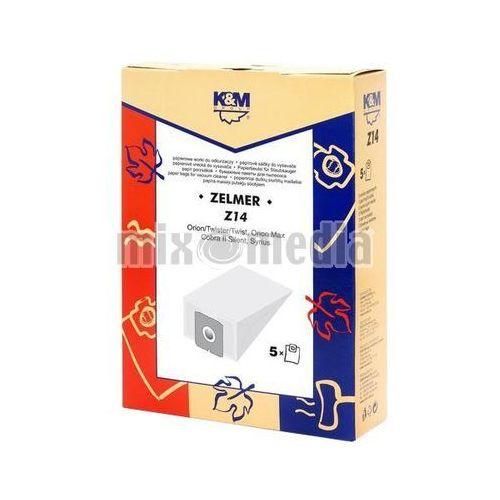 Worki do odkurzacza K&M Z14 papierowe + Zamów z DOSTAWĄ JUTRO!