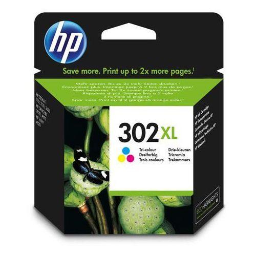HP tusz Color 302XL, F6U67AE