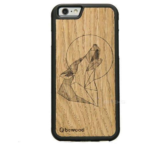 Bewood Wilk Dąb etui na telefon iPhone 6/6S - Wilk Dąb
