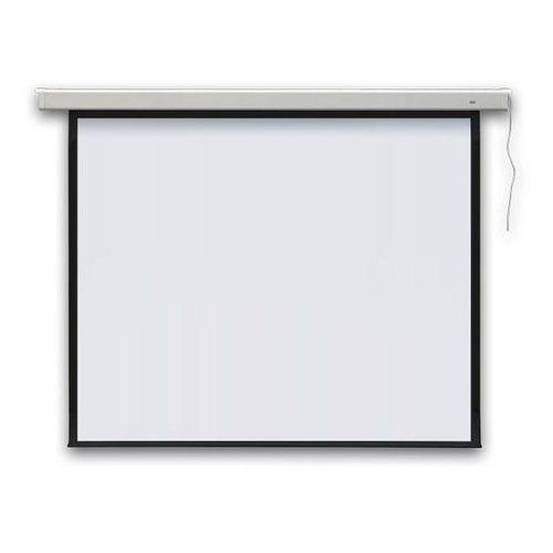 Ekran projekcyjny profi elektryczny, ścienny 236x175 cm (4:3) marki 2x3