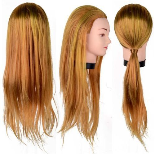 Główka głowa fryzjerska treningowa aneta 55 cm bra marki Calissimo