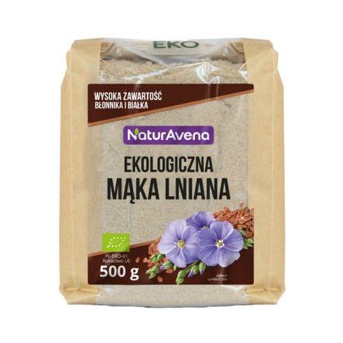 Naturavena 500g mąka lniana bio