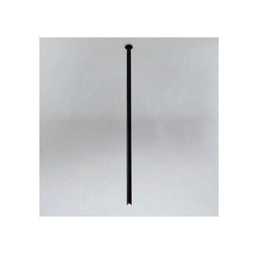 Wpuszczana LAMPA sufitowa ALHA T 9000/G9/800/CZ Shilo metalowa OPRAWA minimalistyczna do zabudowy sopel tuba czarna
