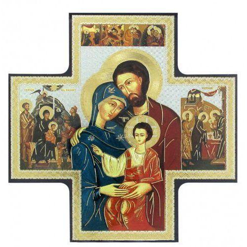Ikona krzyż Święta Rodzina 15x15 cm - sprawdź w wybranym sklepie