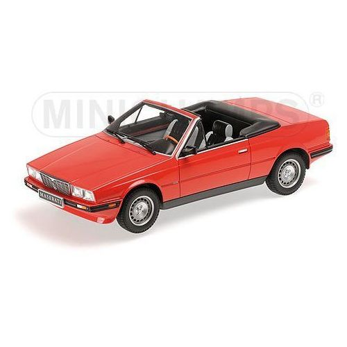 Maserati Biturbo Spyder 1986 - Minichamps (4012138125414)