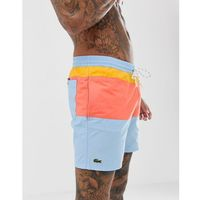 Lacoste colour block swim shorts in multi - Multi, szorty