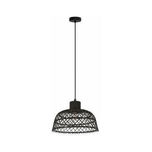 ausnby 43288 lampa wisząca zwis 1x40w e27 czarna marki Eglo
