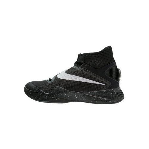 Nike Performance ZOOM HYPERREV 2016 Obuwie do koszykówki black/metallic silver/cool grey - produkt z kategorii- Koszykówka