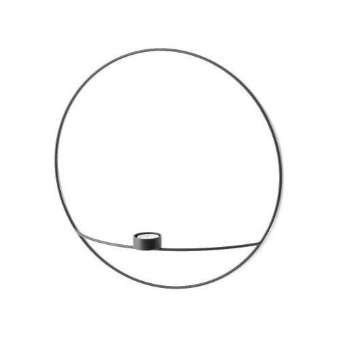 Menu Świecznik pov circle ścienny na tealight, l, czarny -