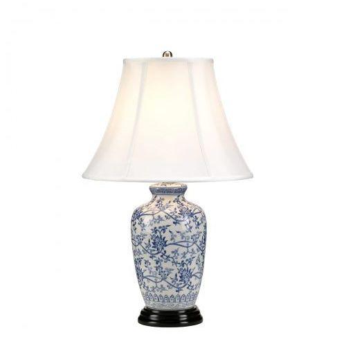 Blue Ginger Jar Willow Nocna Elstead BLUE G JAR/TL 57cm porcelana-granatowy-biały