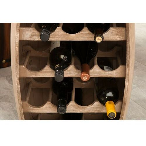Sofa.pl Invicta stojak na wino bodega 60 cm - drewno naturalne