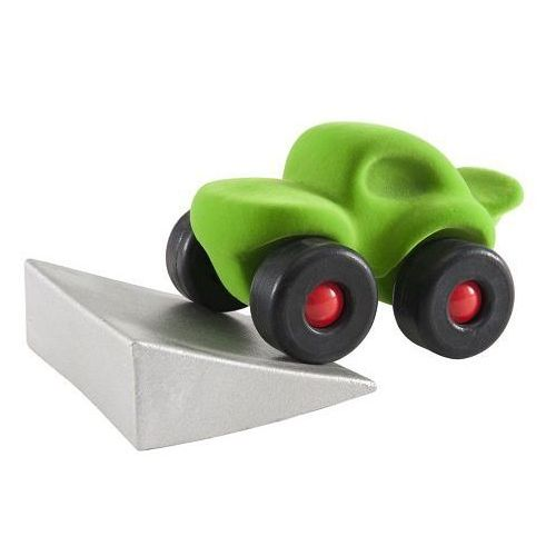 Monster car z podjazdem zielony marki Rubbabu