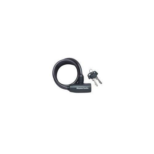 Zapięcie rowerowe MASTER LOCK QUANTUM 8126 8mm 180cm kluczyk czarne