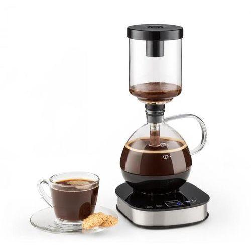 Klarstein ekspres do kawy z podstawą 360° lcd 500w podtrzymanie ciepła dzbanek szklany