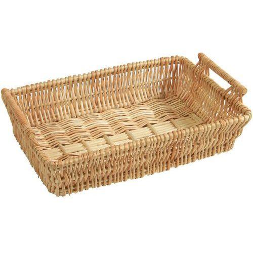 Kosz uniwersalny z wikliny z uchwytami, koszyk do chleba, kosz na żywność, wiklinowy koszyk, kosz kuchenny, koszyk pleciony, Kesper (4000270198335)