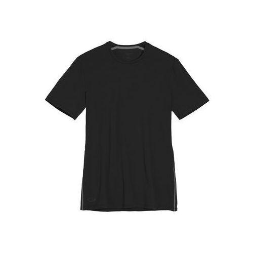 Icebreaker koszulka mens anatomica ss crewe black/monsoon xl