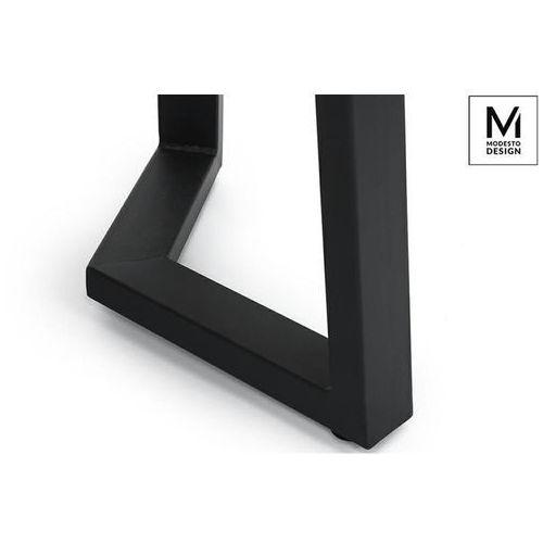 Modesto design Modesto stół tavolo fi 60 dąb - blat mdf, podstawa metalowa