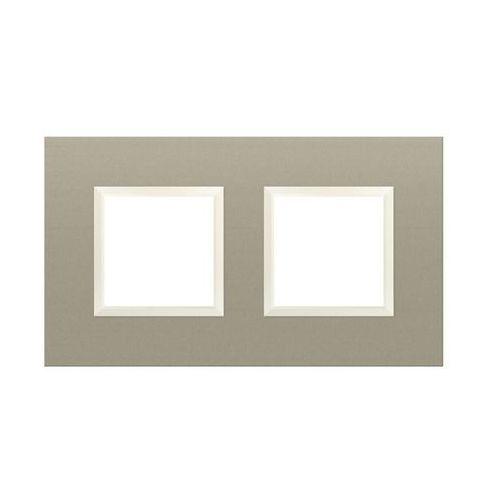 Kos dante ramka 2x aluminium lakierowane satyna 4550282 (5907617114425)