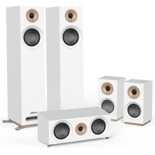Zestaw głośników JAMO S-805 HCS Biały + DARMOWY TRANSPORT! (5709009003214)