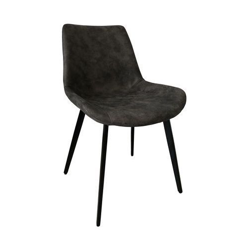 Krzesło tapicerowane Relax, kolor brązowy